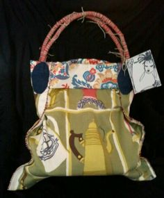 Vintage Slouch Bag by Kimberly Cannon kimcanink@yahoo.com