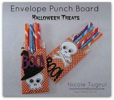 Envelope Punch Board Treat Tutorial