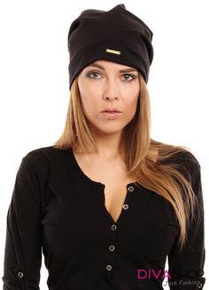 Caciula dama negru Men Sweater, Casual, Sweaters, Accessories, Black, Patterns, Fashion, Block Prints, Moda