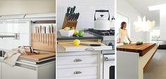 Tablas de cocina integradas en el diseño - http://www.decoora.com/tablas-cocina-integradas-diseno/