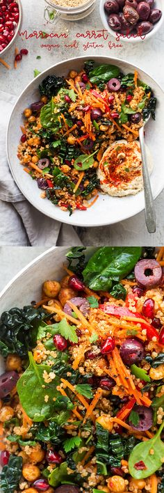 Carrot and harissa salad - Lazy Cat Kitchen - The Best Healthy Dog Recipes Veggie Recipes, Whole Food Recipes, Salad Recipes, Vegetarian Recipes, Dinner Recipes, Cooking Recipes, Healthy Recipes, Vegan Vegetarian, Easy Recipes