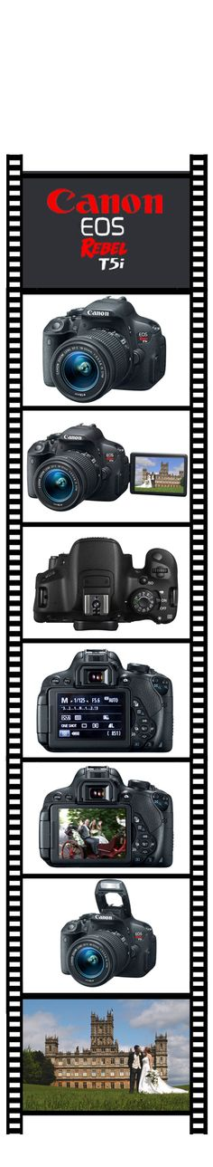 New Canon Rebel T5i is an ideal camera for a second shooter at a wedding. HD Video and the flip vari angle screen I find useful for getting shots in difficult positions.  And yes, it is Downton Abbey  #Canon Rebel T5i