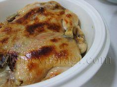 Duduklude tavuk tandir.Piştikten sonra kalan su ile de pilavı pişiriyoruz.Tavuğu da dilerseniz fırında üzerini kızartıyoruz