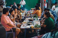 Bustling Saigon is full of roadside street food