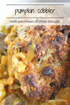 Packed with cheese and topped with biscuits!  What could be better?
