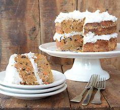 Nut-Free Paleo Carrot Cake recipe