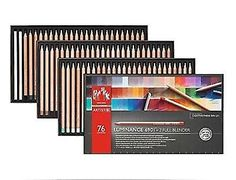 Art Pencils and Charcoal 28108: Creative Art Materials Luminance 6901 Clr Pncl Set 76 Artist Rng (6901.776) -> BUY IT NOW ONLY: $205.32 on eBay!