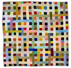 woven Multicolour quilt by Eleanor McCain