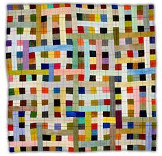 woven Multicolour quilt by Eleanor McCain