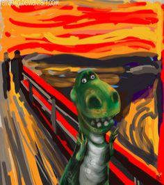 Scream Parody, Scream Meme, Edvard Munch, Famous Art Pieces, Le Cri, Expressionist Artists, Art Van, Cultura Pop, Scary Movies