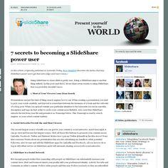 Website 'http://blog.slideshare.net/2012/10/29/7-secrets/' snapped on Snapito!