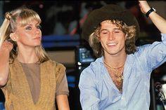 Olivia Newton John & Andy Gibb