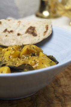 Südindischer Kartoffel-Bohnen-Eintopf | Foodina