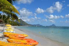 La Femme Joline: Memories on Sugar Beach - Mauritius