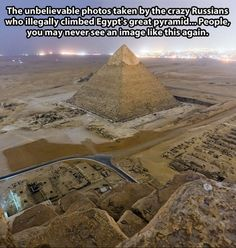 Egypt - If that's the case then we better spread it all over the internet to make sure it isn't lost forever.
