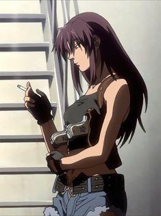 For discussion of the Black Lagoon media franchise. Revy Black Lagoon, Black Lagoon Anime, Anime Art Girl, Manga Girl, Anime Girls, Black Anime Characters, Female Characters, Aesthetic Art, Aesthetic Anime