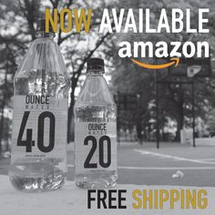 Promo for Buying Ounce Water on Amazon. 🍶💧