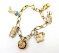Avon Charm Bracelet/ 1973 avon charm by TreasureTrovebyTish