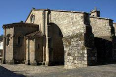 Colegiata de Santa María La Mayor y Real de Sar, Santiago de Compostela, A Coruña (Galicia)