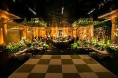 Casamento moderno: pista de dança