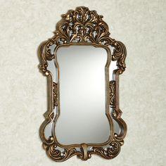 Domenica Acanthus Leaf Wall Mirror
