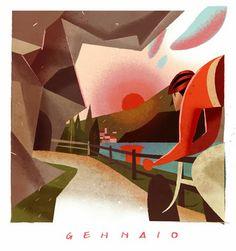 Gennaio by Riccardo Guasco