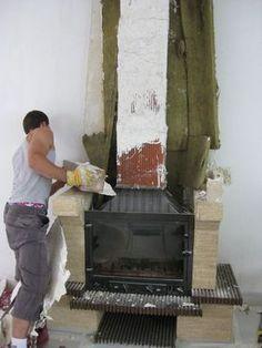 Customiser sa cheminée avec photo!! Corner Stone Fireplace, Home Fireplace, Modern Fireplace, Barbacoa, Salon Style, Deco Design, Sweet Home, Decoration, Home Decor