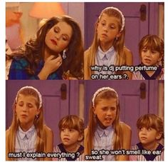 20 Times Stephanie Tanner Was The Baddest Bitch On Full House When she taught Michelle about the mysterious ways of women. Full House Memes, Full House Funny, Full House Quotes, How Rude Full House, Full House Cast, Michelle Tanner, Stephanie Tanner Full House, Fuller House, Tv Show Quotes