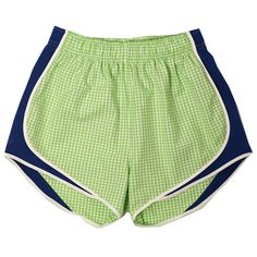 All NEW Lime/Navy gingham Shorties from Lauren James Co! #gingham #laurenjames shoplaurenjames.com