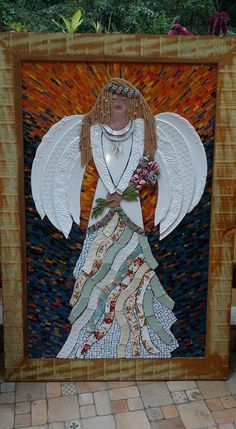 Anjo Mosaico Picassiette by Andrea Olighon