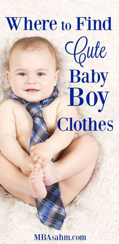 Shopping for baby boy clothes can be way more fun than you think! There are so many adorable options for them, there's no reason they can't be more stylish than girls! Check out this list of all my favorites places to shop for baby boy clothes.