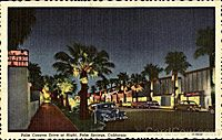 Palm Canyon Drive in Palm Springs -- Vintage Postcards