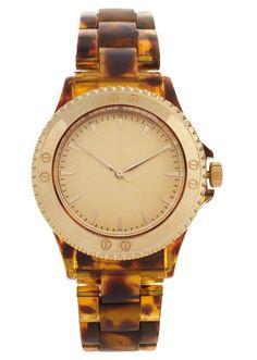 ASOS tortoiseshell watch
