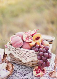 Lilac & Peach