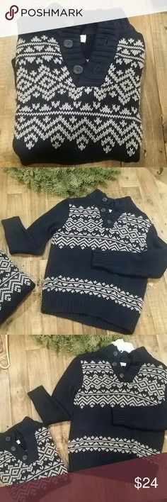 Two Kids Cherokee Sweaters 🎄Christmas Sale!🎄Two great sweaters perfect for the holidays wore once only practically new.  In very good condition (Purchase both for $20) Cherokee Shirts & Tops Sweaters
