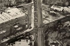 Patterson Avenue and Three Chopt, 1973 [Must be during the morning rush hour since everyone is headed East. - MS]