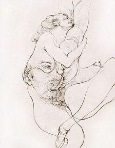 Hans Bellmer - L'Etreinte                                                                                                                                                     Plus