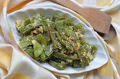 Yumurtalı Taze Fasulye Kavurması Tarifi, Nasıl Yapılır? - Yemek.com Spinach, Food And Drink, Vegetables, Veggies, Vegetable Recipes