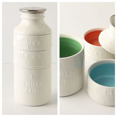 milk bottle measuring cups