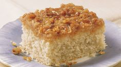 Coconut and pecans add a wonderful flavor to this crumb cake made using Bisquick Heart Smart® mix – a perfect dessert.