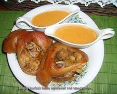 W Mojej Kuchni Lubię..: golonka prowansalsko czosnkowa w cebulowym sosie.....