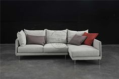 Dash Casa Feather Sofa with steel and wood frame, foam and feather filling, fabric cover. Fabric Sofa, Fabric Covered, Sofa Design, Sofas, Feather, Couch, Steel, Stylish, Wood