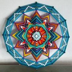 Мастер-класс по плетению мандалы из ниток, интуитивная мандала