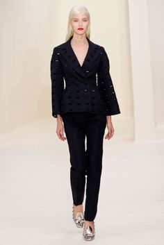 What a great blazer! || Dior (Spring 2014 Couture)