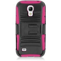 EGC Samsung Galaxy S4 Mini Case Advanced Armor Holster - Pink
