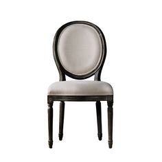 Vintage Louis  Antique Black Side Chair - 5 on each side of dining table.