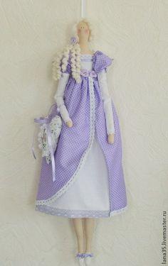 Куклы Тильды ручной работы. Ярмарка Мастеров - ручная работа Лавандовая фея. Handmade.