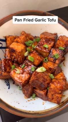 Tofu Dinner Recipes, Instant Pot Dinner Recipes, Tofu Recipes, Delicious Vegan Recipes, Asian Recipes, Vegetarian Recipes, Cooking Recipes, Healthy Recipes, Tofu Dishes