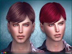 Sims 4 CC's - The Best: Anto - Feral Hair