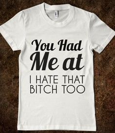 Ha!! I would get matching ones for me and my bestie